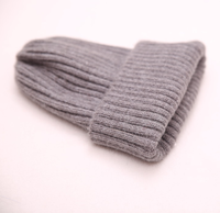 Wholesale blank various colors womens winter custom knitted hat