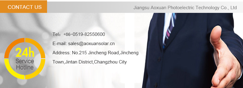 Para Exportação Aoxuan uso doméstico 140 W 150 W 160 W 170 W monocristalino solar condicionador de ar preço no paquistão