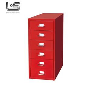 Alibaba China supplier helmer 6 drawers mobile steel filing cabinet