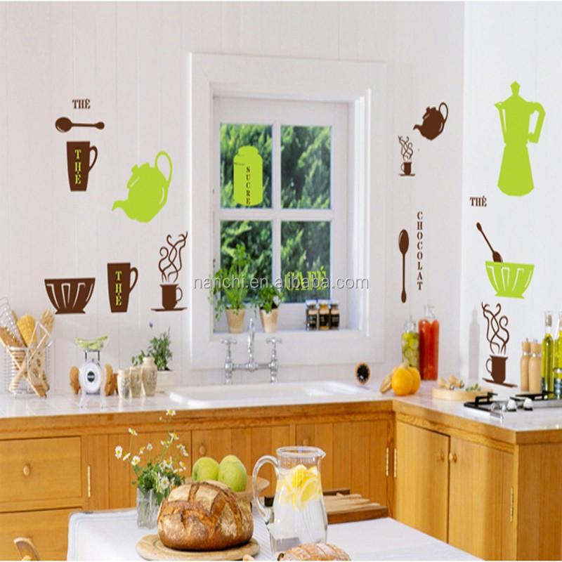 Muebles para cocina caf decoraci n de la pared decoraci n for Adhesivos neveras decoracion