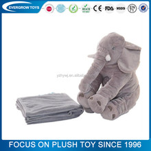 animal elephant shape baby body animal stuffed plush baby pillow