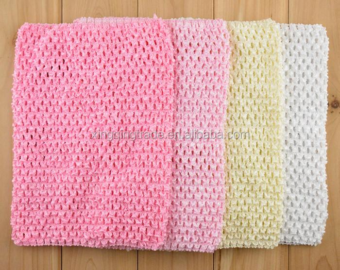 Baby Girl 9inch Crochet Tutu Tube Tops Chest Wrap Wide Crochet Tops