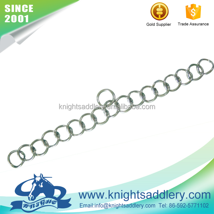 Stable & Durable Curb Horse SS Curb Chain for Weymouth Bit