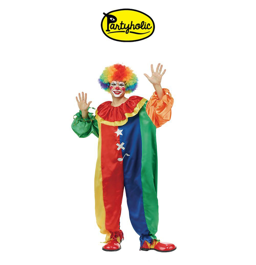 Halloween volwassen clown kostuum voor cosplay kostuum party volwassen bar decoratie Kerst party clown pak (18129)