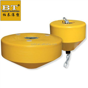 LLDPE Food grade floating lifesaver for pools and boats mooring buoy boat ed plastic barrel buoyancy environmental-friendly