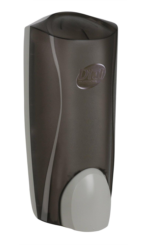 "Dial 724648 Smoke Dispenser For Liquid Soaps, 1 Liter Volume, 5.12"" Width x 12.34"" Height x 3.98"" Depth (Pack of 6)"