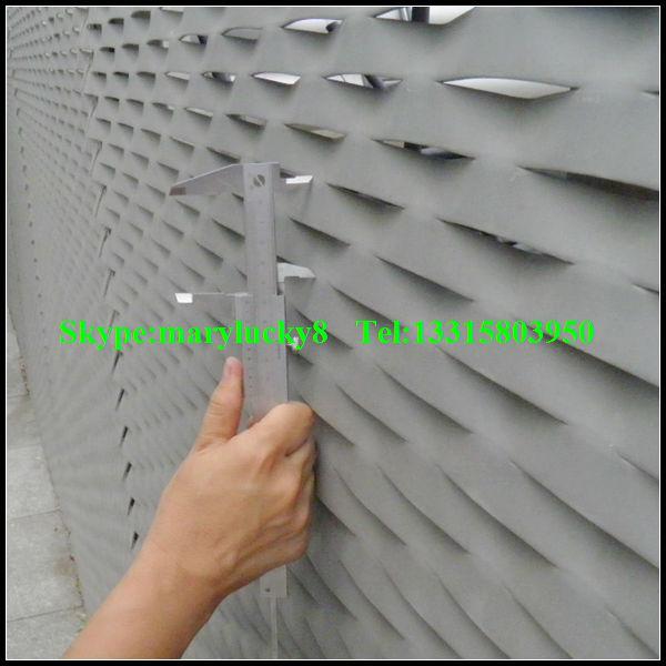 Aluminium strekmetaal gevel ontwerp van metalen mesh gevel buy product on - Cortenstaal fabrikant ...