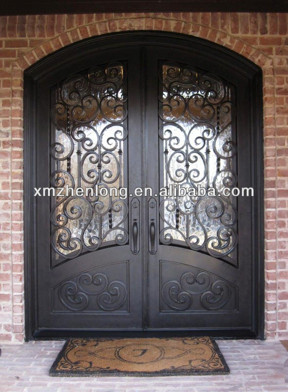 Grill doors add 250 each iron grill iron double doors Main entrance door grill