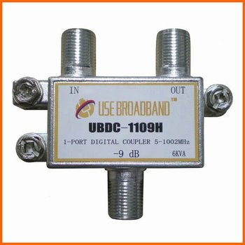 (ubdc-1109h) Indoor 1 Way Catv Splitter And Tap / Directional Coupler - Buy  Catv Directional Coupler,Indoor Catv Tap,Catv Tap Product on Alibaba com