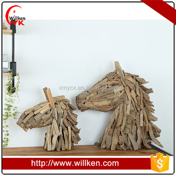Wood Horse Head Wall Decor Hand Craft Design Buy Wood Hand