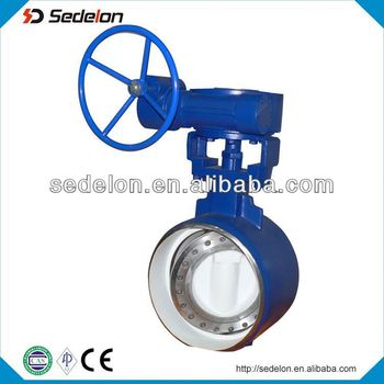 Manual Opearted Api 609 Stainless Butterfly Valve