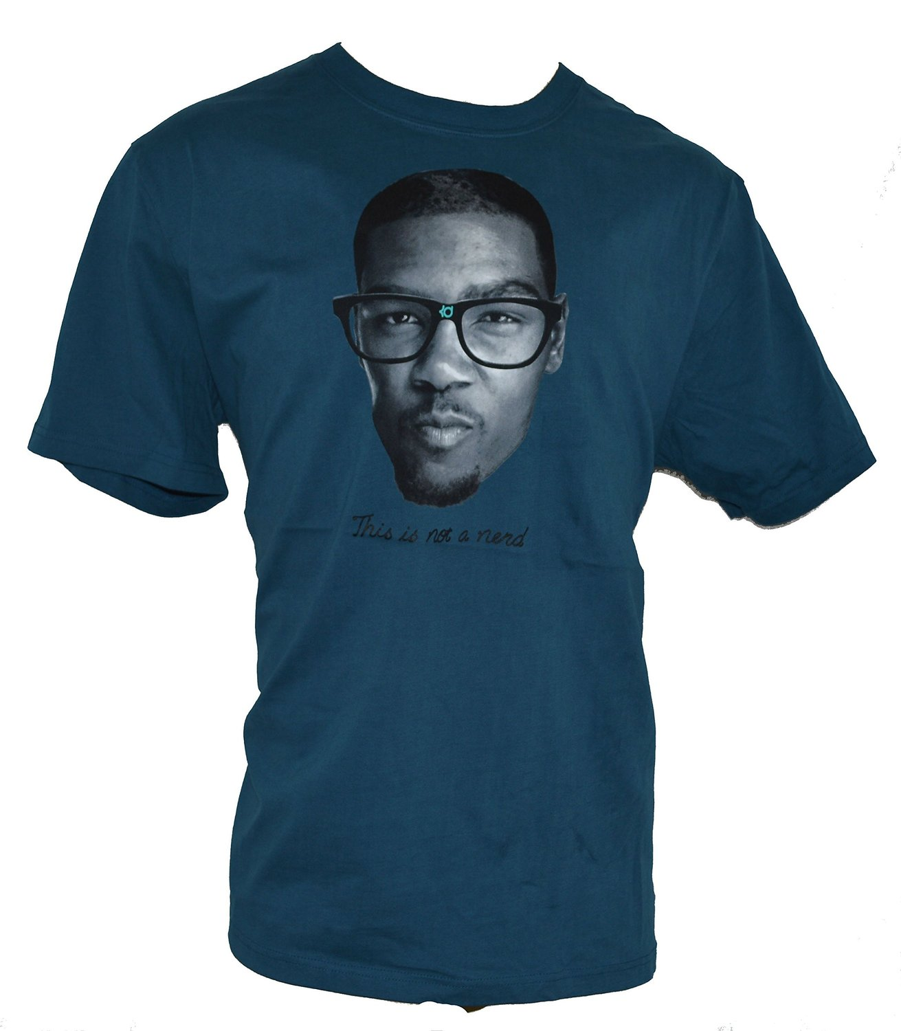 new arrival ec8ca 7b085 Get Quotations · Nike Men s Kevin Durant KD This Is Not A Nerd Basketball T- Shirt X-