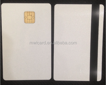 Java chip card 80KB memory dual interface card bank emv card