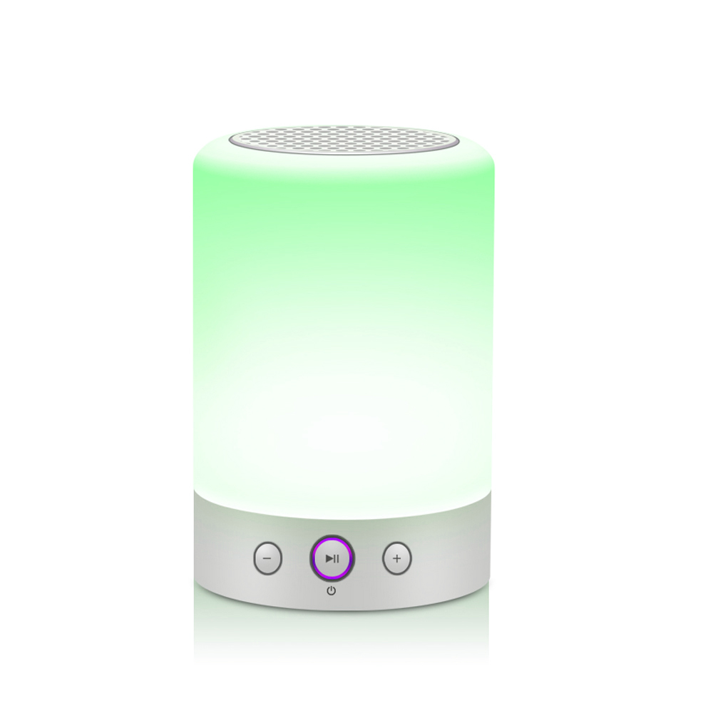 Wireless Speaker with LED Changing Light, Home Theater Speaker System Desk Lamp from China suppliers