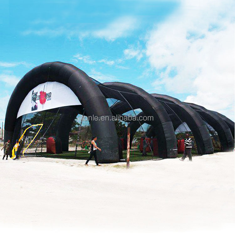 Commercial inflatable paintball arenas/Paintball Fields for Sale, paintball inflatable arena for rental