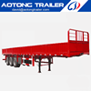 The box type fence semi trailer of general cargo from China truck chassis semi trailer manufacturer on sale Dai