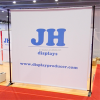 Telescopic Banner Stand Exhibition Stand
