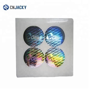 Custom High Quality 3D Hologram Sticker Label for Protect Product Safety