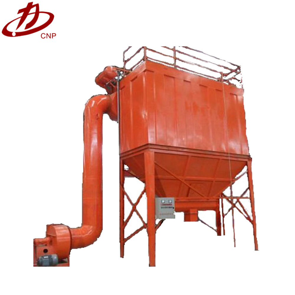 High efficiency wood saw dust collector system