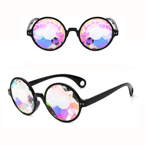 Holiday Christmas Halloween Party Sunglasses Kaleidoscope Sunglasses