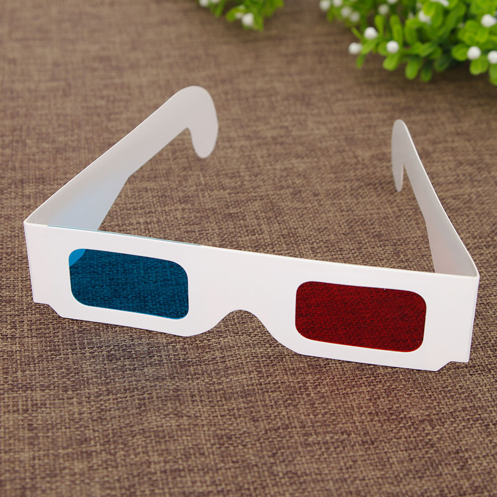 Stock cheap 3d Paper glasses with cheap price