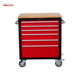 Durable mechanic truck tool box trolley