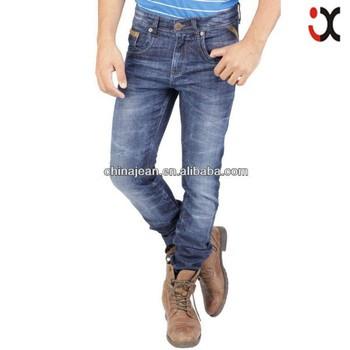 25b2a05e637b4 2017 nueva llegada de los hombres pantalones vaqueros ocasionales  Pantalones rectos hombres slim fit clásico elegante