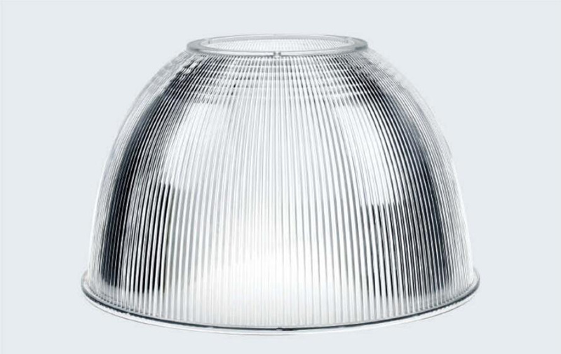 "22"" LED High Bay Light Reflector PC Reflector 60 degree"