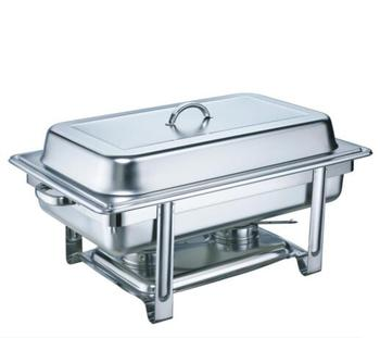 Factory Price Stainless Steel Mirror Surface Hot Food Warmer Buffet Server/Chafing Dish/Chafer/Buffet Server