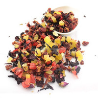 Multiple Natural Blended Fruit Tea with Dried Flowers and Fruits Chinese Dried Fruit Delicious Tea