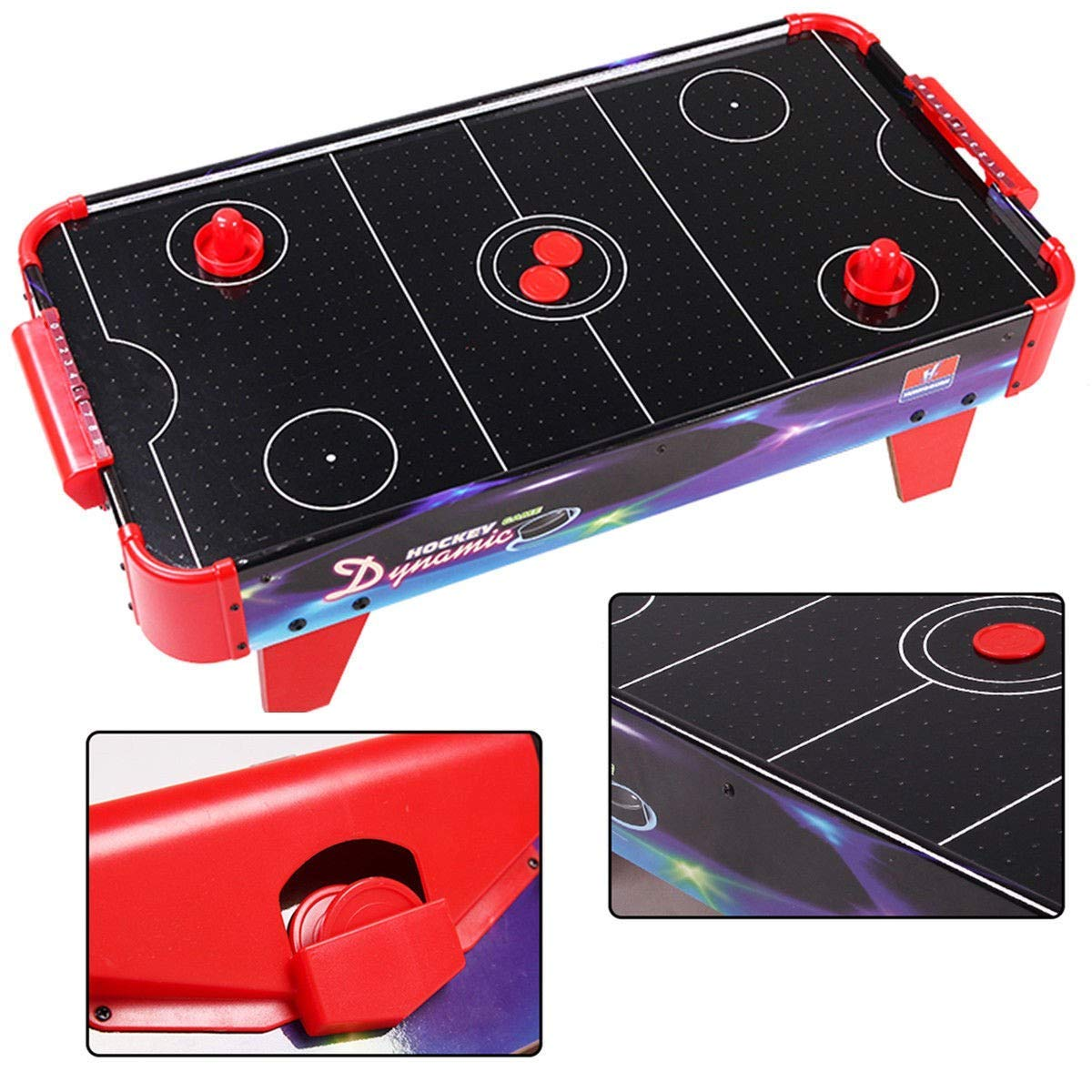 """BeUniqueToday 32"""" Indoor Game Air Powered Ice Air Hockey Table, Brand New and 32"""" Indoor Game Air Powered Ice Air Hockey Table, Air Powered Ice Air Hockey Table Indoor Game"""