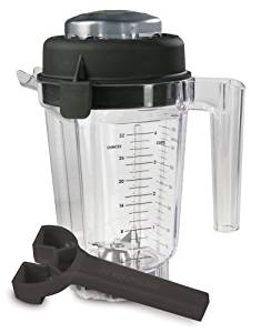 Vitamix Eastman Tritan Copolyester 32-Ounce Container with Lid and Wrench (No Blade) Size: 32-Ounce, Model: 15863, Hardware Store
