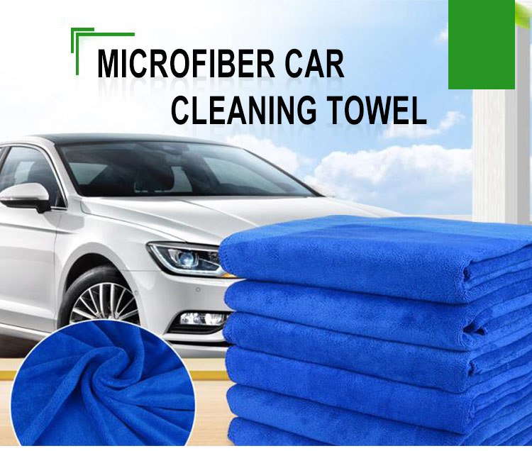 custom Logo car cleaning towel quick dry microfiber cloth