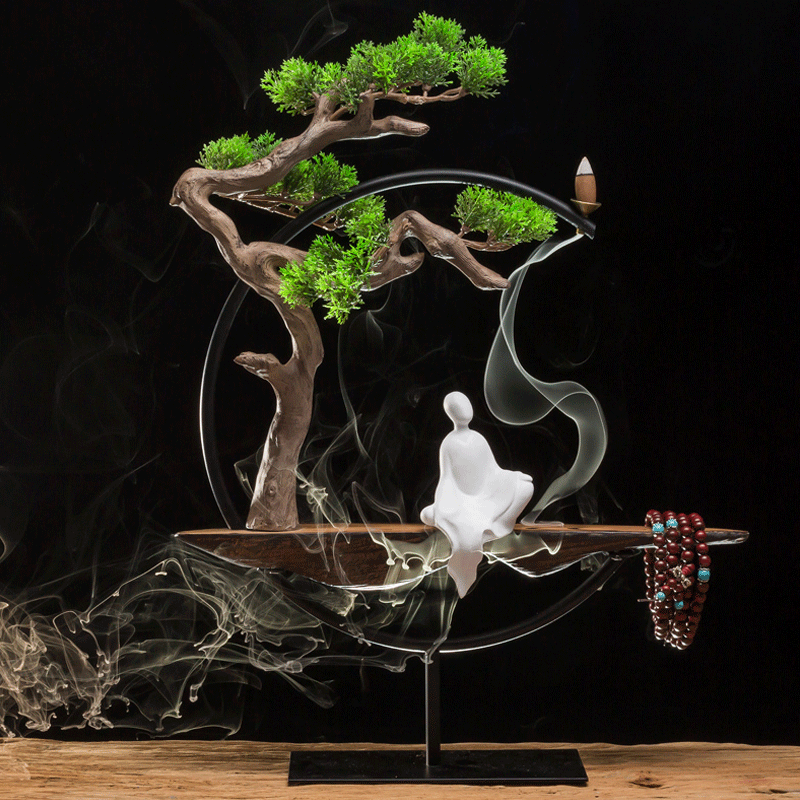 Chinese style backflow incense burner for sale