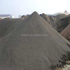 Hot sale raw materisl iron fine powder ilmenite concentrate concentrated titania ore