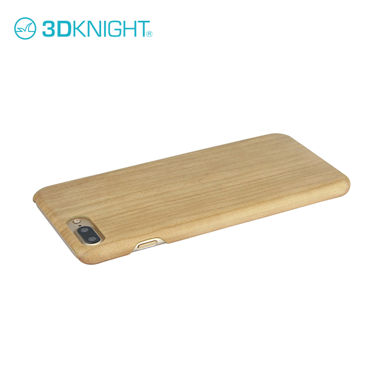 Real solid full wood case custom made for iphone 7 defender cover