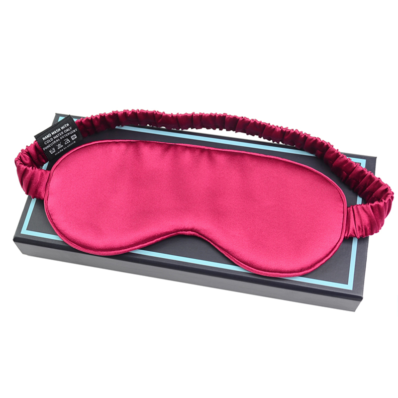 Suzhou wholesale soft comfortable natural silk sleeping eye mask