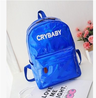 New Selling Products 2018 Shinny Woman Backpacks Fashion Student Backpacks