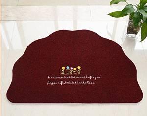 Get Quotations · Slim Cartoon Living Room Bedroom Door Mats Entrance Slip  Rub Soil Carpet Home Hall Doormat Ottomans