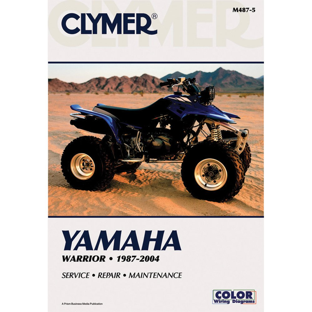 Get Quotations · Clymer Repair Manual for Yamaha ATV YFM350 Warrior 87-04