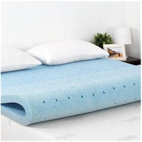 Customized 2 3 4 Inch Visco Cooling Gel Memory Foam Bed Mattress Topper