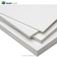 1.0mm to 20mm White PVC Foam Board for Advertising printing and construction
