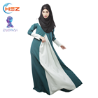 Zakiyyah 10002 women dresses 2018 arabic abaya burqa muslim bridesmaid dresses