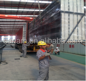 finished prefab house container mobile restaurant/ light steel frame