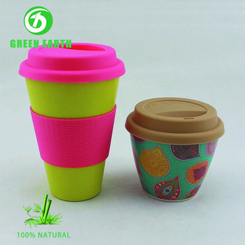 Microwavable Ethiopian Coffee Cup Hot Promotion Travel Mug With Bamboo Lid Plastic View Green Earth Product Details From Anhui
