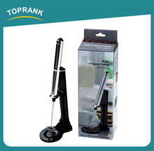 Toprank Easy To Use Pen Shaped Coffee Mixer Multifunctional Purpose Milk Frother With Stand,Electric Automatic Milk Frother