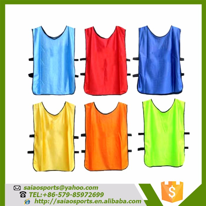 Hot sale cheap soccer football bib vest sport wear mesh vest