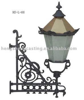 cast iron outdoor wall corner lamp with bracket 24 6kg buy wall