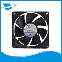 80x80x20mm 12 volt dc brushless computer cooling fan for monitor unit