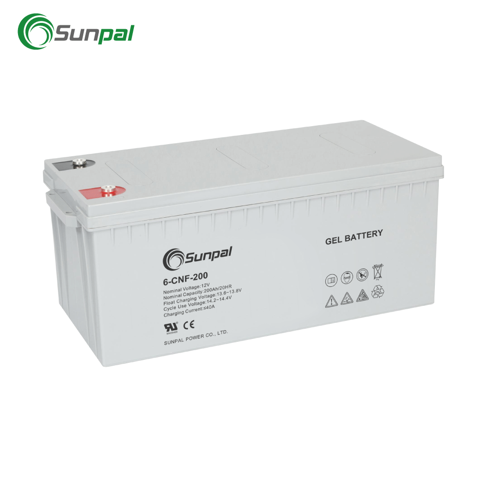 Umur Panjang Inverter Battery 12 V 200Ah Deep Cycle Gel Solar Battery 200 Ah VRLA